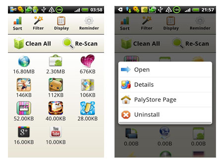 how to clean up your phone memory