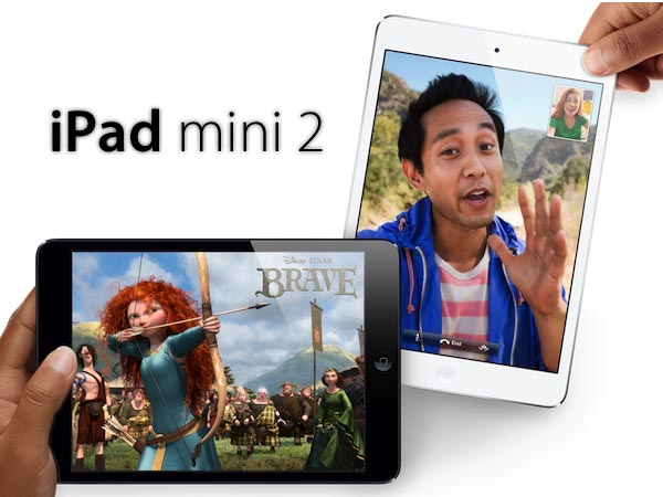 mini iPad 2 con Retina or Not