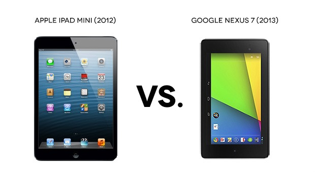 New Nexus 7 vs iPad mini