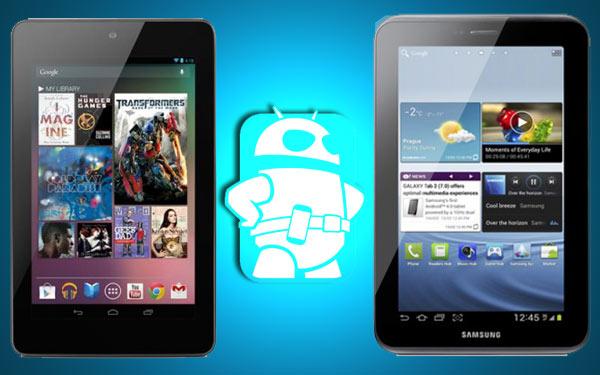 New Nexus 7 vs Samsung Galaxy Tab 2.7.0