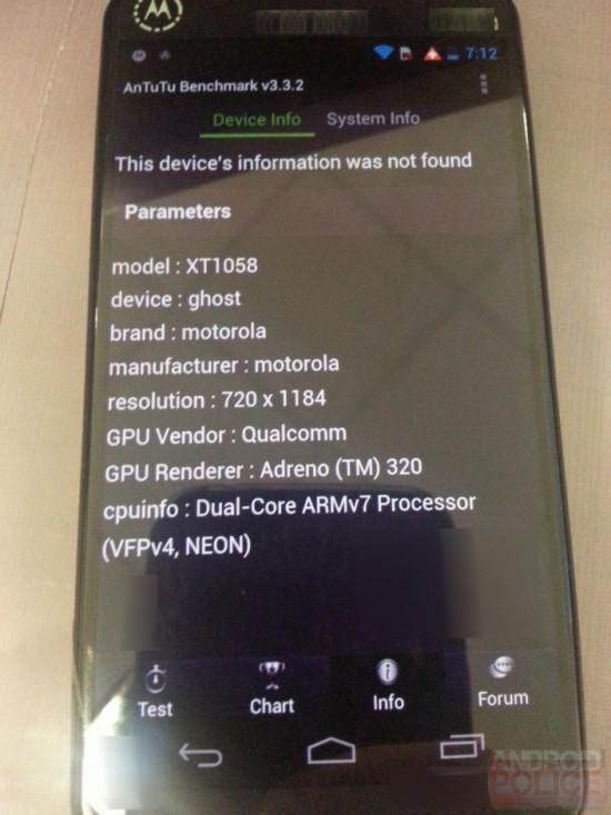 Moto X Phone details