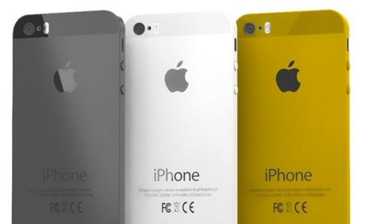 iPhone 5S with 3 Colors?