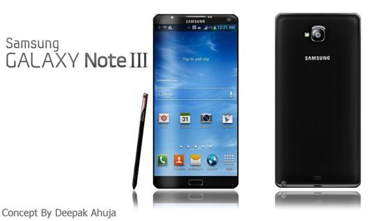 Samsung Galaxy Note 3 Concept