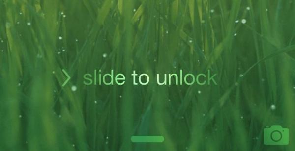 """Slide to unlock"" sound missing"