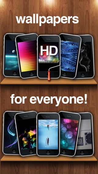 Wallpapers HD for iPhone, iPod and iPad