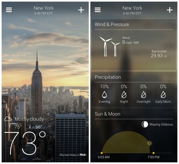 Yahoo Weather for Android