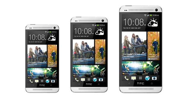 HTC One Mini, HTC One and HTC One Max