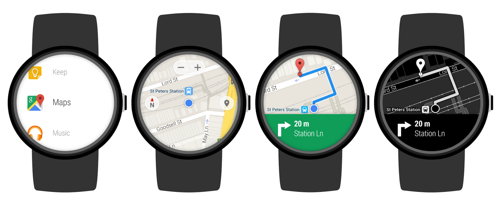Google Conforms the Release of Two Android Wear ...