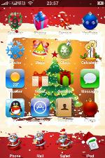 Christmas iPhone Themes2