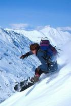 hill-ski