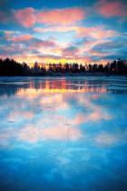 lake-sunrise