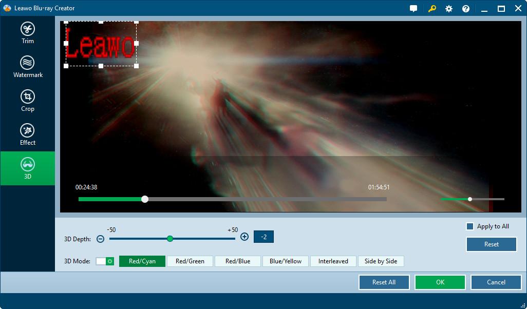 How To Burn 3d Blu Ray Movie With Leawo Blu Ray Creator
