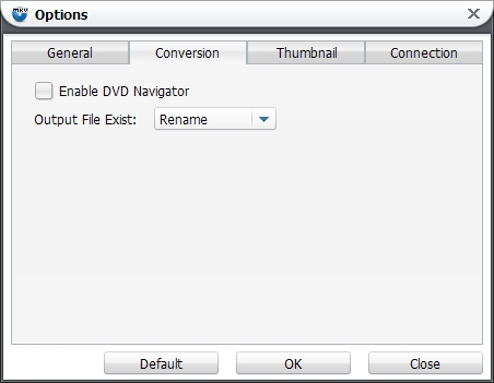Leawo Blu-ray to MKV Converter Screenshot