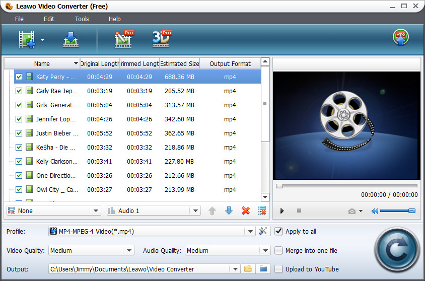 Leawo tutorial free video converter comment utiliser for Free programmi