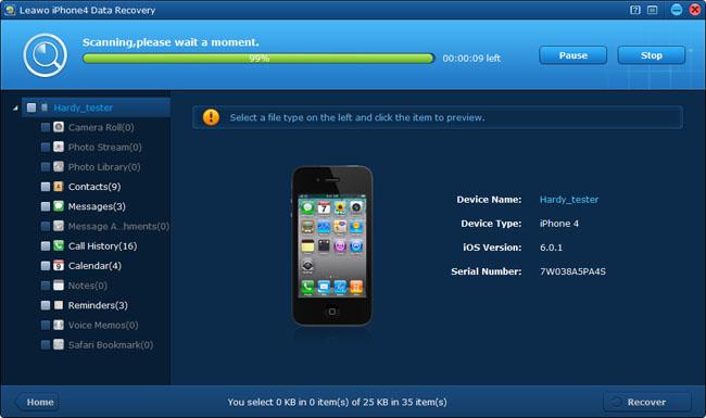 Analizza il tuo iPhone 4