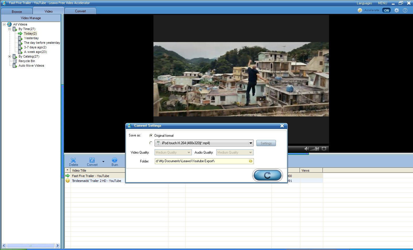 Fast Five Movie Video Preview And Conversion You May Able To Download