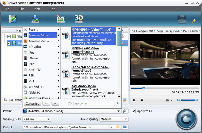 Leawo video converter add external subtitles to video for better a converso deve adicionar legendas externas para os vdeos em sua vontadeento voc pode mover os vdeos legendas includos para seus prprios ccuart Image collections