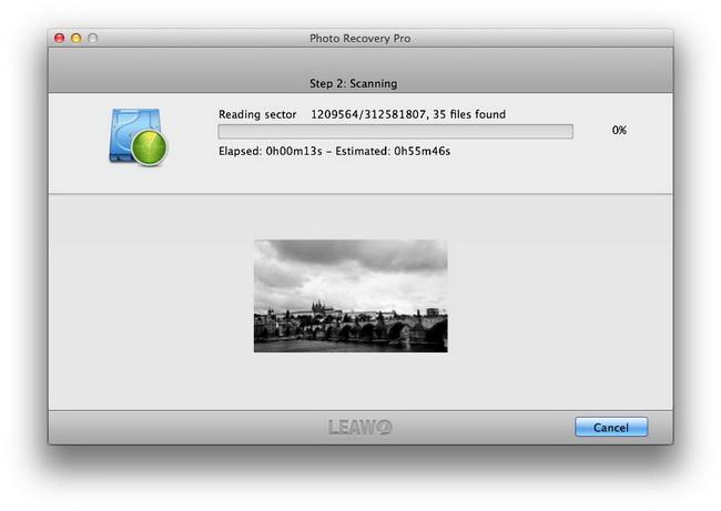 Scanning files