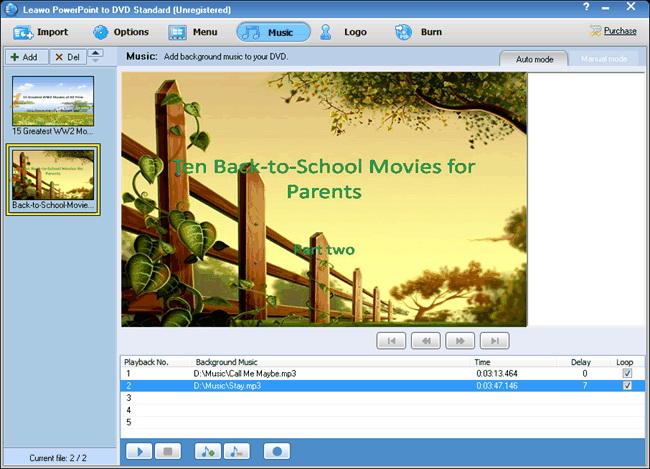 auto loop slideshow powerpoint presentations