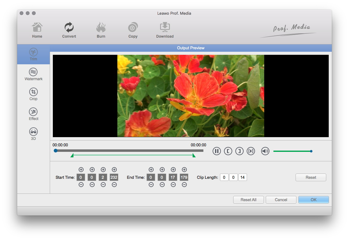 User guide for Free Mac Video Converter - How to convert videos for