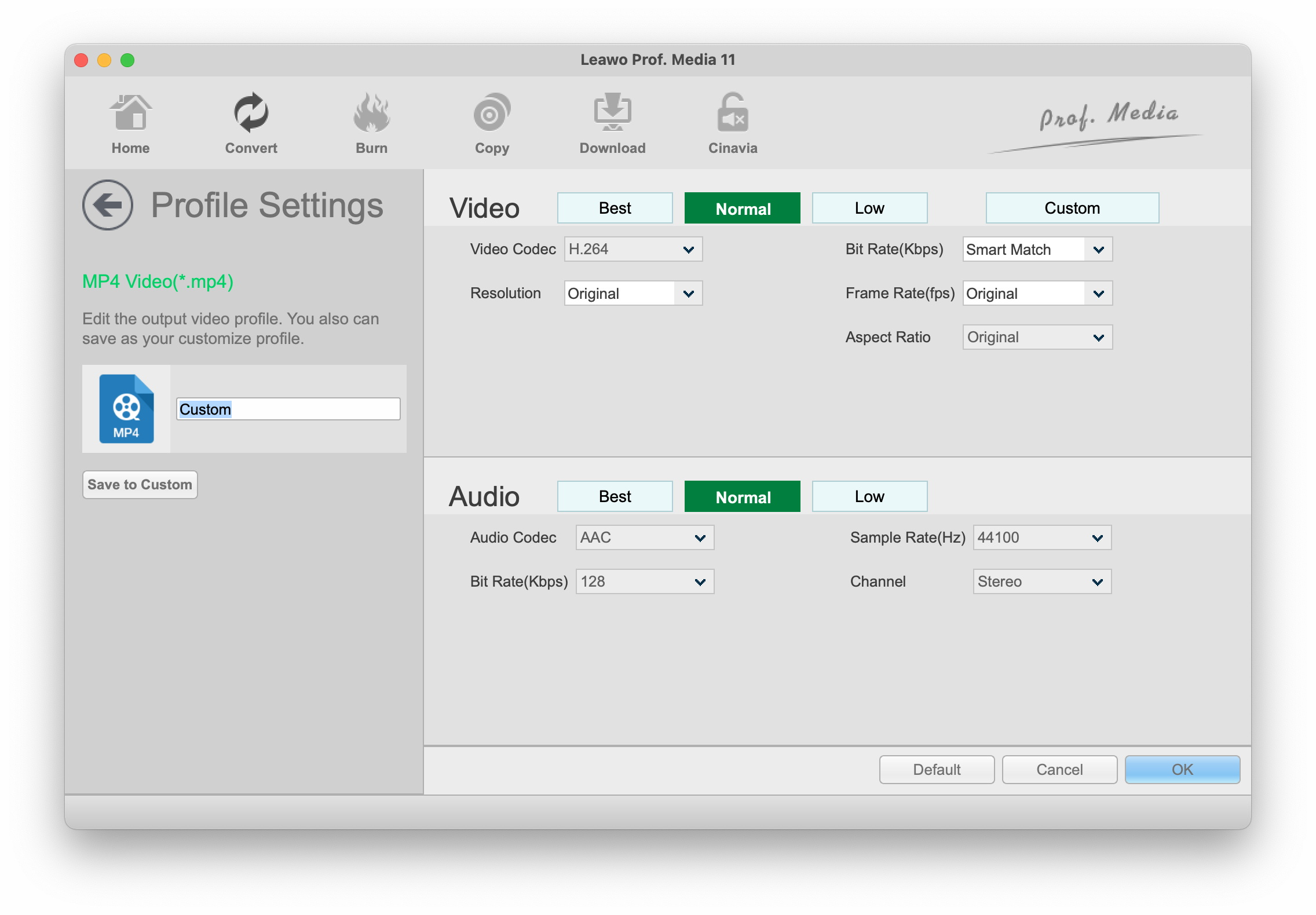User Guide of Leawo Video Converter Ultimate for Mac