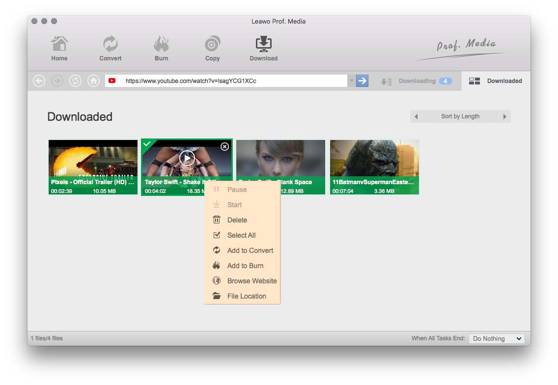 How to Import YouTube to iMovie for Further Editing?