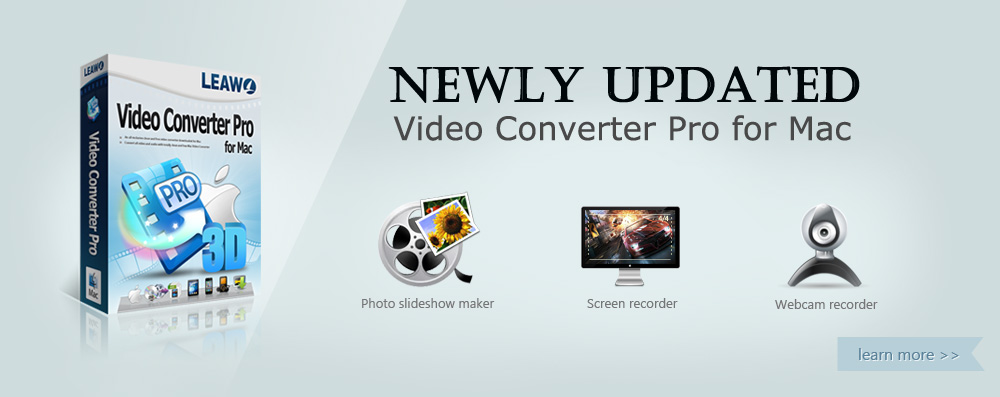 Leawo Video Converter Pro for Mac - The best Mac DVD Ripper & Video Converter Mac