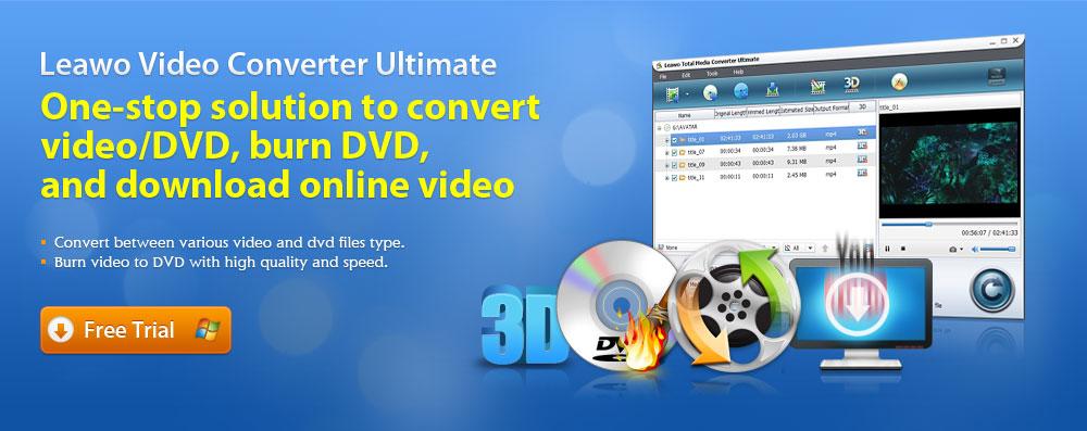 Free Video Converters, DVD Converters for Win & Mac from Leawo - FLV Converter, AVI Converter ...