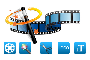 Powerful functions for converting video to DVD