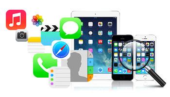 Recuperar los datos de los dispositivos iOS directamente iTunes Backup