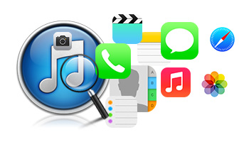 Retrieve 12 data types from all iPhone, iPad & iPod touch