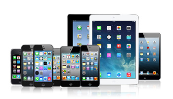 Restaurar formatos diversificados de iPhone, iPad e iPod touch