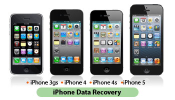 iPhone 3GS, iPhone 4, iPhone 4S y iPhone 5 de recuperación de datos