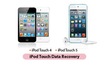 iPod touch de recuperación de datos