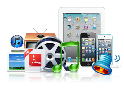 Transfer apps among iOS devices, iTunes, PC
