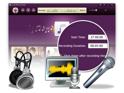 Resultado de imagen de Leawo Music Recorder