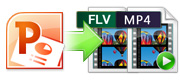 Convert PowerPoint to flash video formats