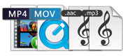 Uscita video e formati audio