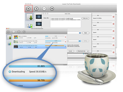 Leawo YouTube Downloader for Mac- Easy to use