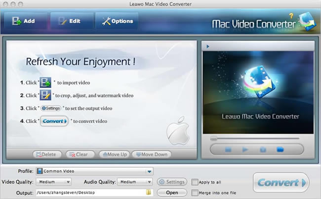 Convert Ice Age 3 VOB to MP4 to upload to YouTube