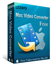 Leawo Free Mac Video Converter - convert video and audio for Mac