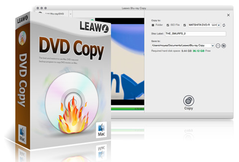 Leawo DVD Copy per Mac