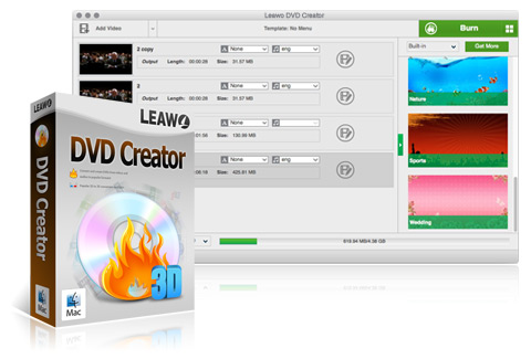 Leawo DVD Creator for Mac