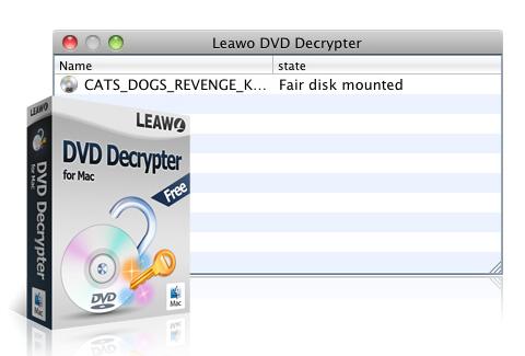 Leawo DVD Decrypter for Mac - Prefect DVD Decryption