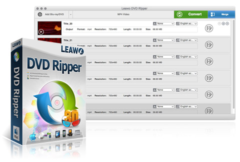 Leawo DVD Ripper per Mac