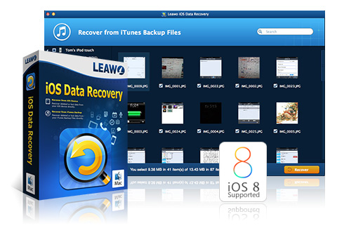 Leawo iOS Data Recovery for Mac – No 1 Mac iPod, iPad & iPhone Data