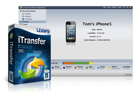 Leawo iTransfer - iOS 设备数据传输软件丨反斗限免