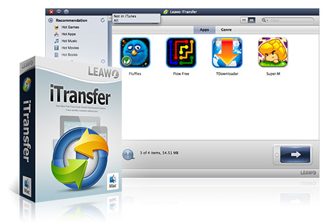 Leawo iTransfer for Mac – No.1 Mac iPod, iPad & iPhone Data Recovery  Software
