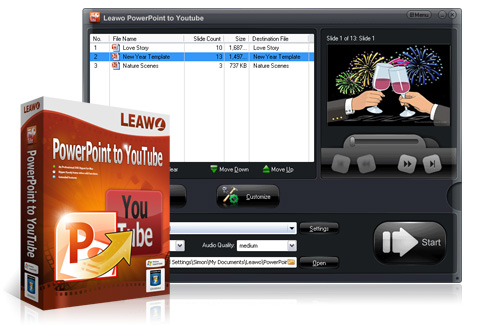 Leawo PowerPoint su YouTube