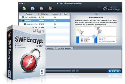 eawo SWF Encrypt pour Mac